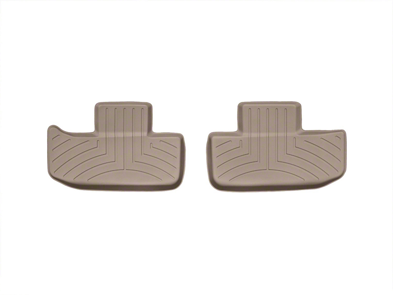 Weathertech DigitalFit Rear Floor Liners; Tan (11-20 All)