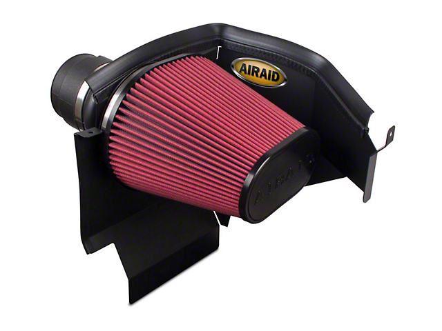 Airaid Cold Air Dam Intake w/ Red SynthaMax Dry Filter (11-19 3.6L, 5.7L HEMI, 6.4L HEMI)
