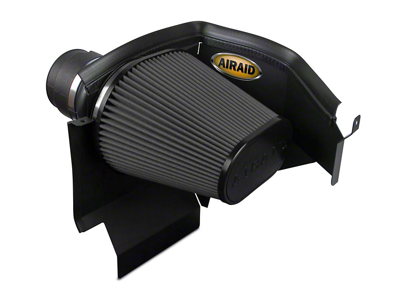 Airaid Cold Air Dam Intake w/ Black SynthaMax Dry Filter (11-20 3.6L, 5.7L HEMI, 6.4L HEMI)