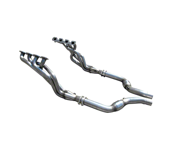 American Racing Headers 2-Inch Long Tube Headers with Catted Mid-Pipe (09-14 5.7L HEMI)