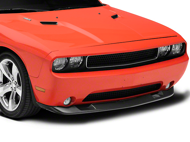 Anderson Composites Type-OE SRT8 Style Front Chin Spoiler; Carbon Fiber (08-10 All)
