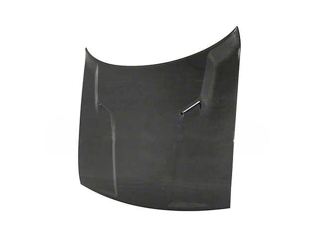 Anderson Composites Type-OE Hood; Carbon Fiber (08-14 All)
