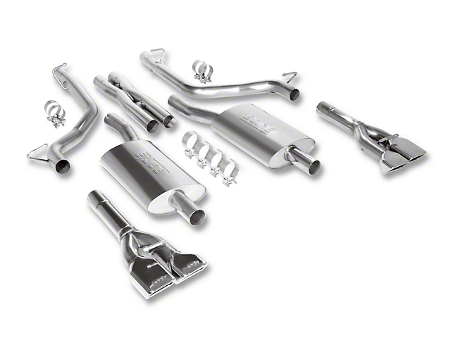 Borla Touring Cat-Back Exhaust with Polished Tips (09-14 5.7L HEMI)