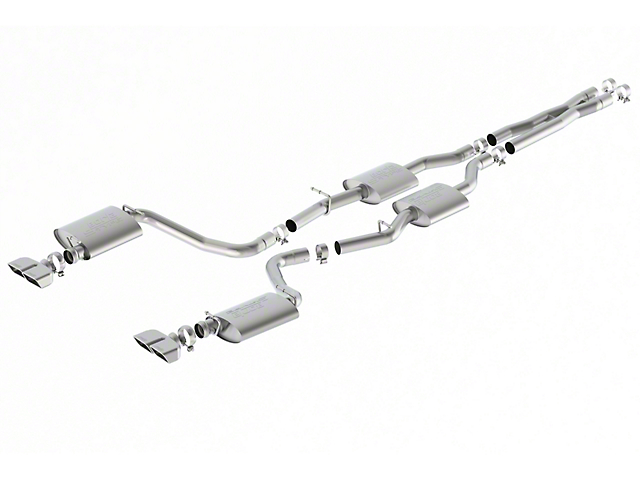 Borla Stinger S-Type Cat-Back Exhaust (15-20 5.7L HEMI w/o Active Exhaust)