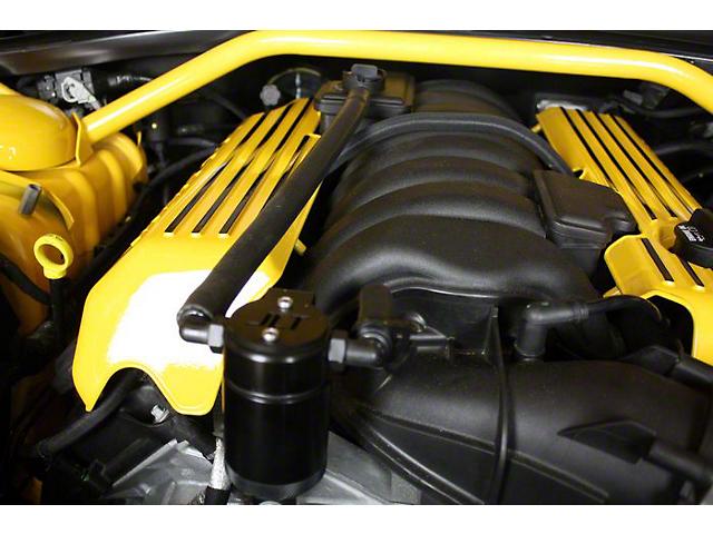 JLT 3.0 Black Oil Separator; Passenger Side (11-21 6.4L HEMI w/o Shaker Hood)