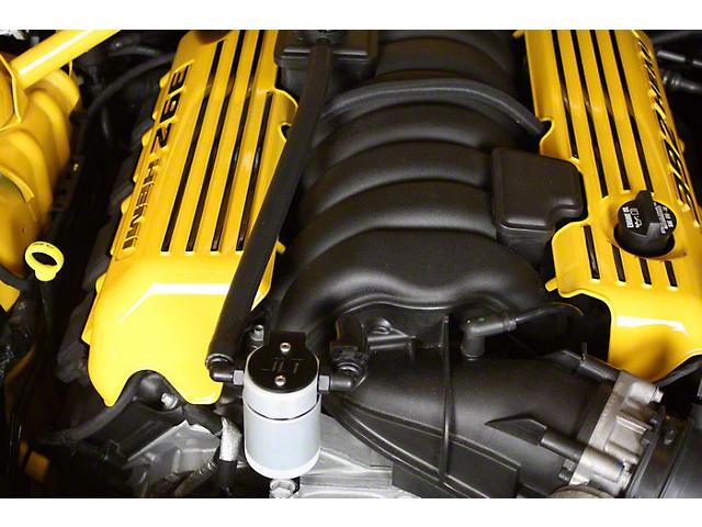 JLT V3.0 Satin Oil Catch Can - Passenger Side (11-20 6.4L HEMI w/o Shaker Hood)