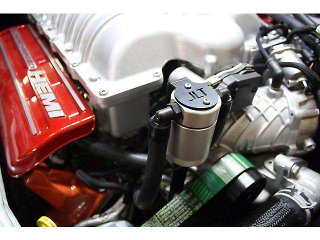 JLT 3.0 Satin Oil Separator; Passenger Side (15-21 Demon, Hellcat)