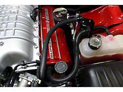 JLT V3.0 Black Oil Separator; Driver Side (15-17 Hellcat)