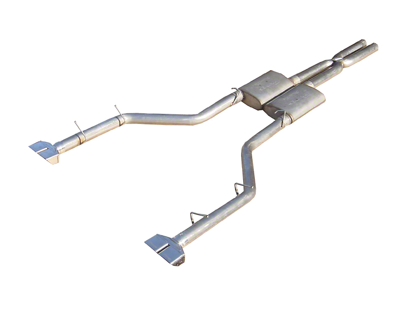 Pypes Street Pro Cat-Back Exhaust with Polished Tips (09-10 3.5L)
