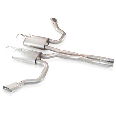 Stainless Works Challenger True Dual S Tube Turbo Cat Back Exhaust Side Exit Challv6cbse 09 14 5 7l Hemi