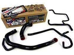 HPS Silicone Radiator and Heater Coolant Hose Kit; Black (11-13 6.4L HEMI)