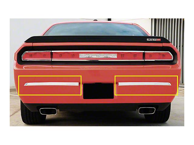 T-REX T1 Series Rear Bumper Trim; Polished (08-14 All)