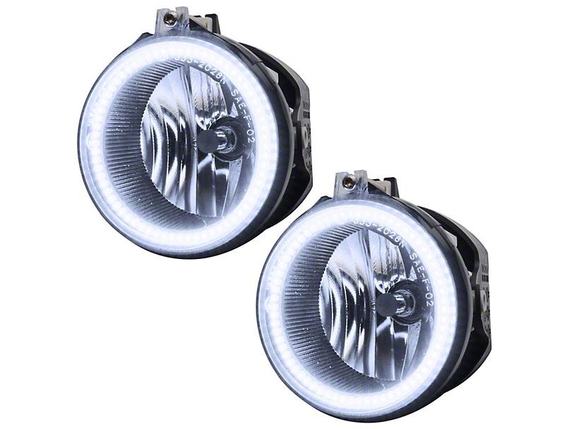 Oracle Chrome OE Style LED Halo Fog Lights (08-10 w/ Halogen Foglights)