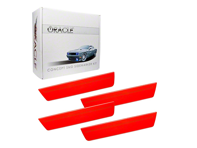 Oracle Concept LED Side Marker Kit; Ghosted; Pre-Painted (08-14 All)