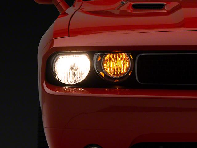 Oracle Chrome OE Style Headlights w/ ColorSHIFT LED Halos (08-14 w/o HID Headlights)