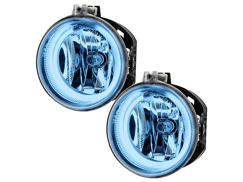 Oracle Chrome OE Style Headlights w/ CCFL Halos (11-14 w/ Halogen Fog Lights)