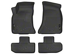 WeatherBeater Front & Row Floor Liners - Black (16-20 All)
