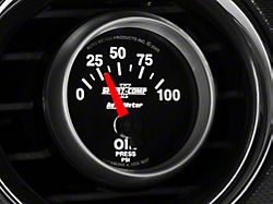 Auto Meter Sport Comp II Oil Pressure Gauge; Electrical (Universal; Some Adaptation May Be Required)