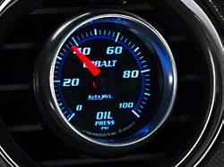 Auto Meter Cobalt Oil Pressure Gauge; Mechanical (Universal; Some Adaptation May Be Required)
