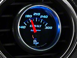 Auto Meter Cobalt Oil Temp Gauge; Electrical (Universal; Some Adaptation May Be Required)