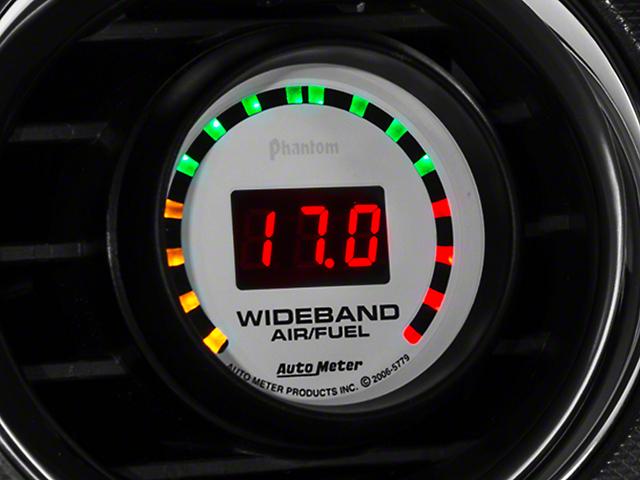 Auto Meter Phantom Wideband Air/Fuel Ratio Gauge - Digital (08-20 All)