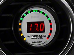 Auto Meter Phantom Wideband Air/Fuel Ratio Gauge; Digital (Universal; Some Adaptation May Be Required)