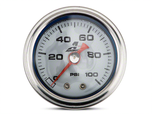 Aeromotive Fuel Pressure Gauge - Mechanical (08-19 All)