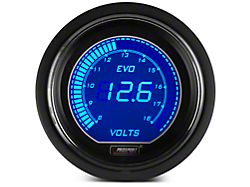 Prosport 52mm EVO Series Volt Gauge; Electrical; Blue/Red (Universal; Some Adaptation May Be Required)