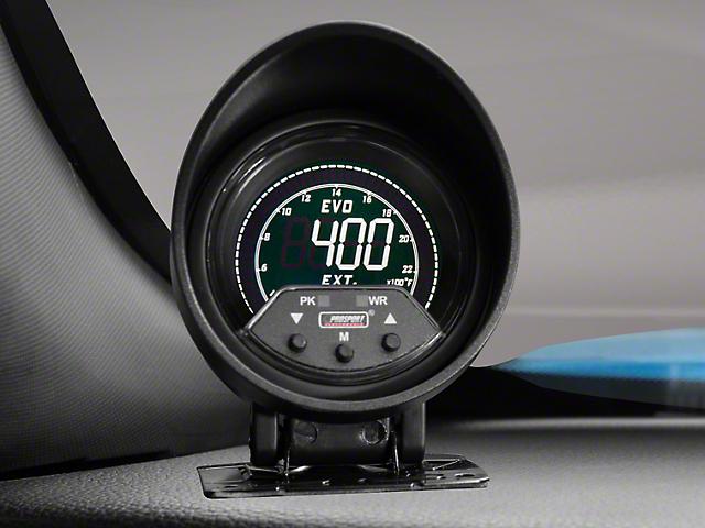 Prosport 60mm Premium EVO Series Exhaust Gas Temperature Gauge; Quad Color (Universal Fitment)