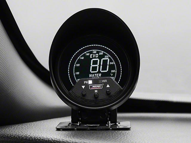 Prosport 60mm Premium EVO Series Water Temperature Gauge; Quad Color (Universal Fitment)