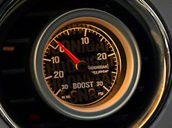 Auto Meter Hoonigan 30 PSI Boost/Vacuum Gauge; Mechanical (Universal; Some Adaptation May Be Required)
