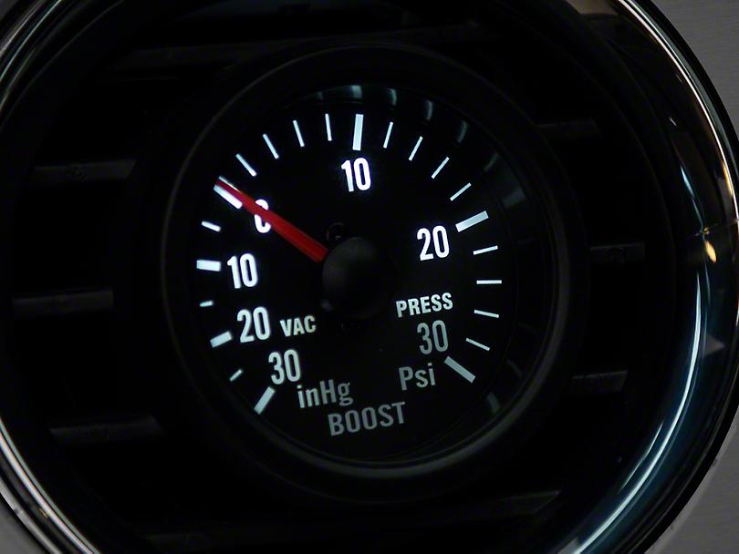 Prosport 30 PSI Boost/Vac Gauge - Mechanical (Universal Fitment)