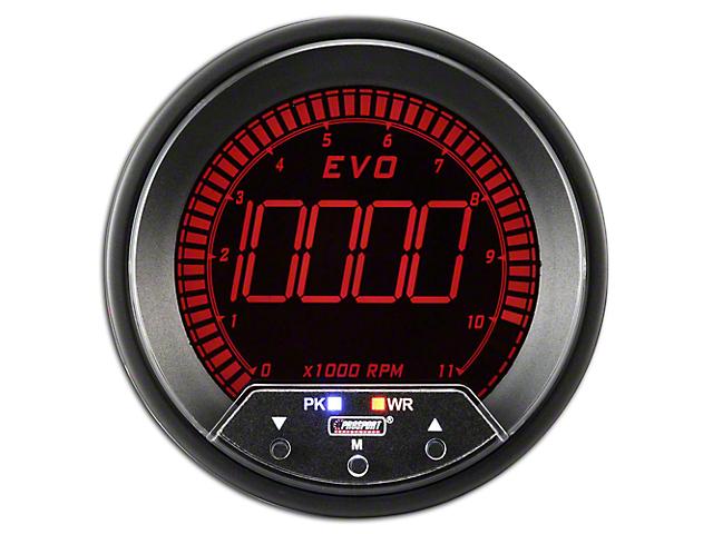 Prosport 80mm Premium EVO Series Tachometer; 85mm (Universal; Some Adaptation May Be Required)