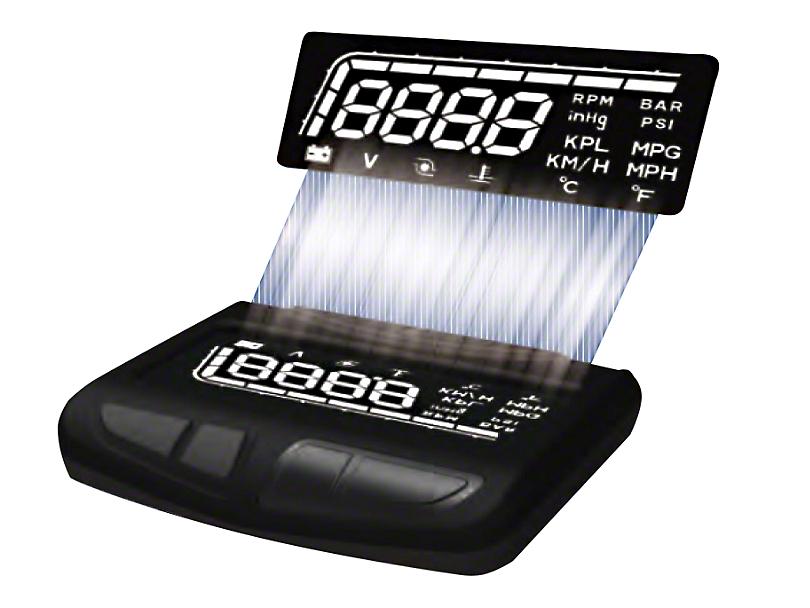 Prosport 52mm Digital HUD Display Boost Gauge (Universal Fitment)
