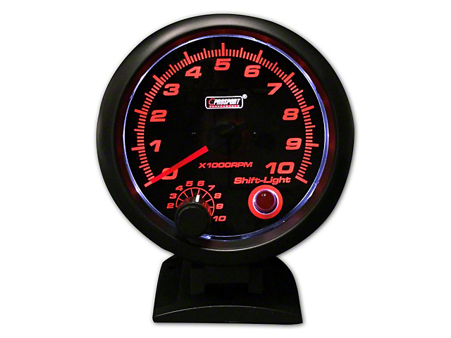 Prosport Performance Tachometer with Shift Light; 3-3/4-Inch (Universal Fitment)