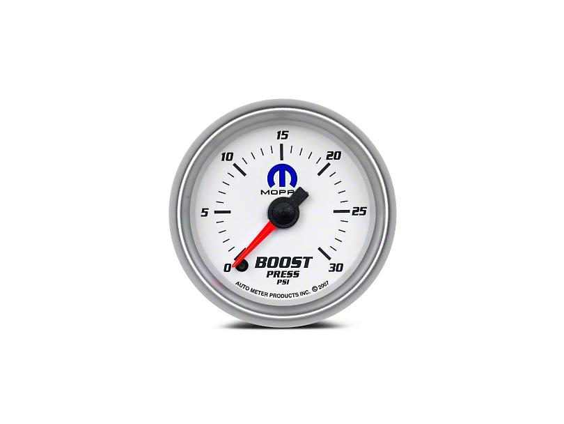 Mopar Boost Gauge - Digital Stepper Motor - White (08-19 All)