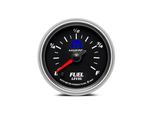 Mopar Fuel Level Gauge - Digital Stepper Motor - Black (08-19 All)