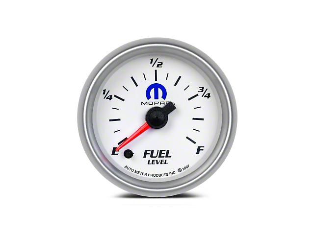 Mopar Fuel Level Gauge - Digital Stepper Motor - White (08-19 All)