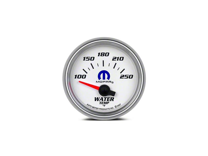 Mopar Water Temperature Gauge - Electrical - White (08-19 All)