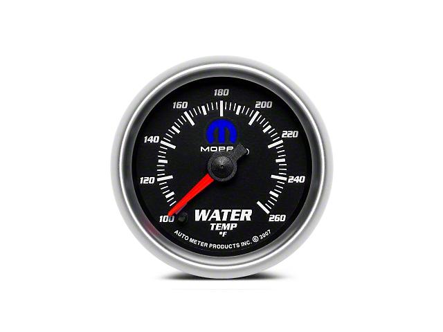 Mopar Water Temperature Gauge - Digital Stepper Motor - Black (08-19 All)