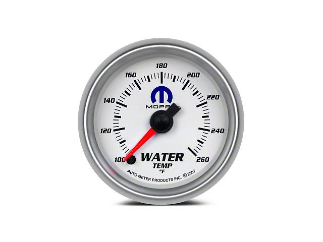 Mopar Water Temperature Gauge - Digital Stepper Motor - White (08-20 All)