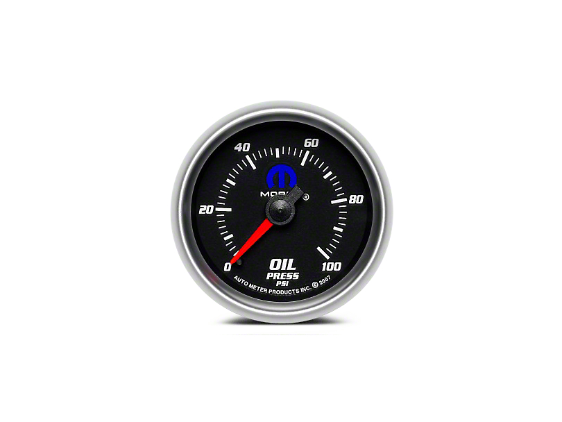 Mopar Oil Pressure Gauge - Mechanical (08-19 All)