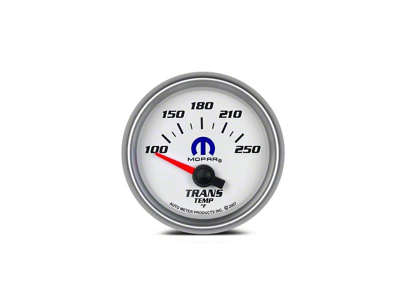 Mopar Transmission Temp Gauge - Electrical - White (08-19 All)
