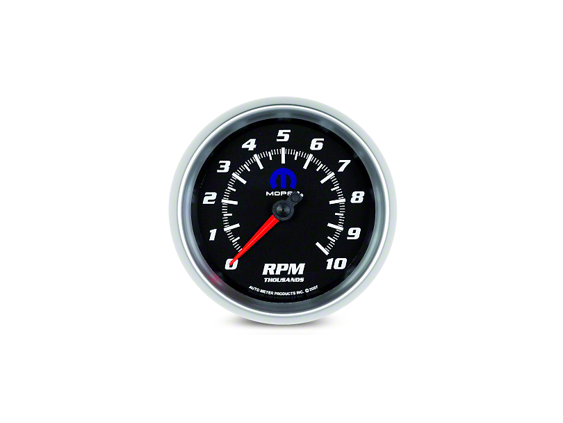Mopar 3-3/8 in. In-Dash Tachometer - Black (08-20 All)