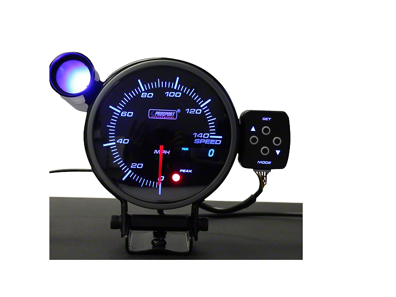 Prosport 0-140 MPH Electronic Speedometer - 95mm (08-19 All)