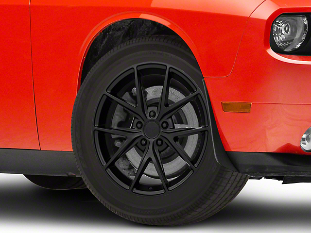 Niche Misano Matte Black Wheel; 18x8 (08-21 All, Excluding Demon & Hellcat)