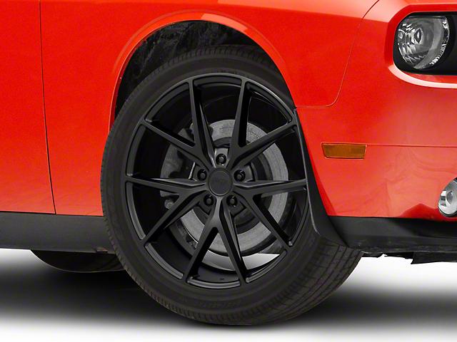 Niche Misano Matte Black Wheel; 20x9 (08-21 All, Excluding AWD)