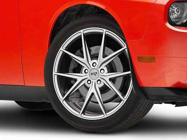 Niche Misano Matte Gunmetal Wheel; 20x9 (08-21 All, Excluding AWD)