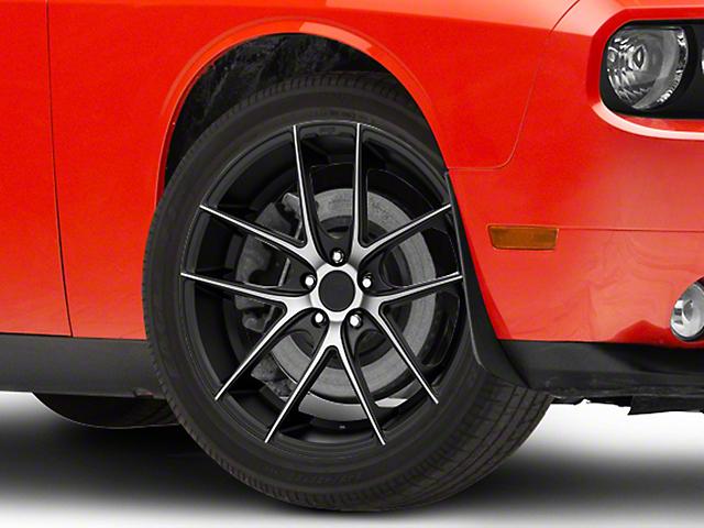 Niche Targa Black Machined Wheel; 22x9 (08-21 All, Excluding AWD)
