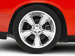 Foose Legend Chrome Wheel; Rear Only; 20x10 (08-20 All, Excluding AWD)